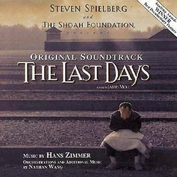 The Last Days Soundtrack (Hans Zimmer) - CD cover