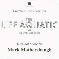 The Life Aquatic with Steve Zissou Soundtrack (Mark Mothersbaugh) - CD cover