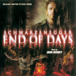 End of Days Soundtrack (John Debney) - CD cover