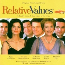 Relative Values Soundtrack (Various Artists, John Debney) - Carátula