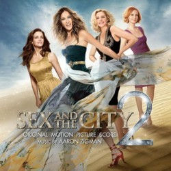 Sex and the City 2 Soundtrack (Aaron Zigman) - CD cover