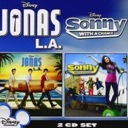Jonas L.A. / Sonny With a Chance Ścieżka dźwiękowa (Various Artists, Jonas Brothers) - Okładka CD