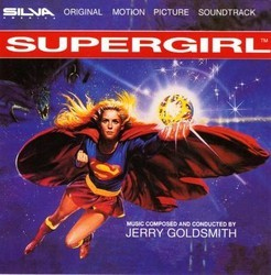 Supergirl Soundtrack (Jerry Goldsmith) - CD cover