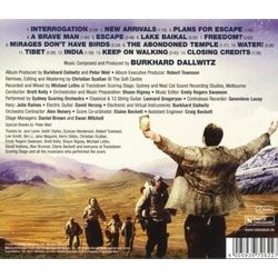 The Way Back Soundtrack (Burkhard Dallwitz) - CD Trasero