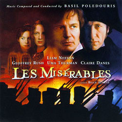 Les Mis�rables Soundtrack (Basil Poledouris) - Car�tula