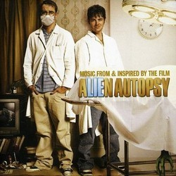 Alien Autopsy Soundtrack (Various Artists, Murray Gold) - CD cover