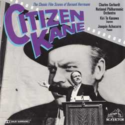 Citizen Kane: The Classic Film Scores of Bernard Herrmann Soundtrack (Bernard Herrmann) - Car�tula