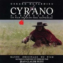Cyrano de Bergerac Soundtrack (Jean-Claude Petit) - CD-Cover