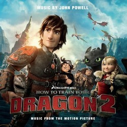 How to Train Your Dragon 2 Bande Originale (John Powell) - Pochettes de CD