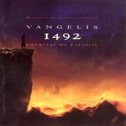 1492: Conquest of Paradise Soundtrack ( Vangelis) - CD cover