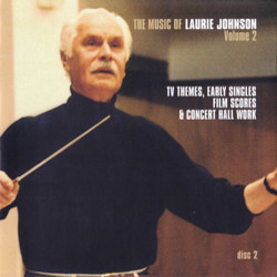 50 Years Of The Music of Laurie Johnson Vol. 2 : The Professionals Trilha sonora (Laurie Johnson) - capa de CD