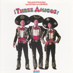 �Three Amigos! Soundtrack (Elmer Bernstein) - CD cover