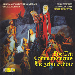 The Ten Commandments Soundtrack (Elmer Bernstein) - CD cover