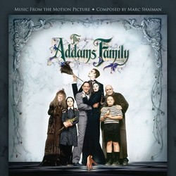 The Addams Family Soundtrack (Marc Shaiman) - Carátula