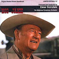 Big Jake Soundtrack (Elmer Bernstein) - CD cover
