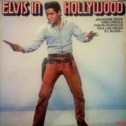 Elvis in Hollywood 声带 (Various Artists) - CD封面