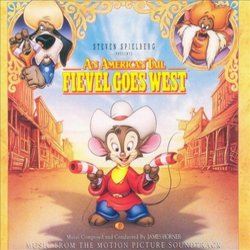 An American Tail: Fievel Goes West Soundtrack (James Horner) - Carátula