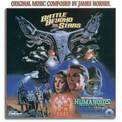 Battle Beyond the Stars / Humanoids from the Deep Soundtrack (James Horner) - CD cover