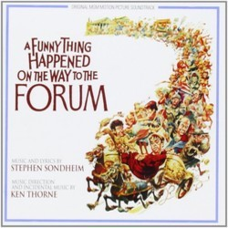 A Funny Thing Happened On The Way To The Forum 声带 (Stephen Sondheim, Stephen Sondheim, Ken Thorne) - CD封面