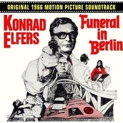 Funeral in Berlin Soundtrack (Konrad Elfers) - CD cover