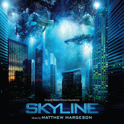 Skyline Soundtrack (Matthew Margeson) - CD cover