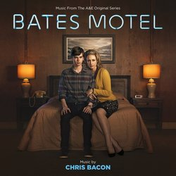 Bates Motel Trilha sonora (Chris Bacon) - capa de CD