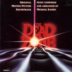 The Dead Zone Soundtrack (Michael Kamen) - CD cover