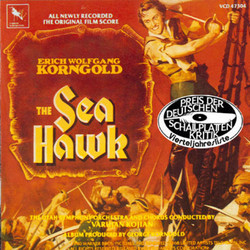 The Sea Hawk Soundtrack (Erich Wolfgang Korngold) - CD cover