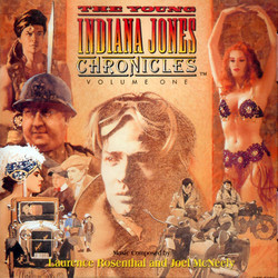 The Young Indiana Jones Chronicles - Volume 1 聲帶 (Joel McNeely, Laurence Rosenthal) - CD封面