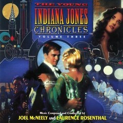The Young Indiana Jones Chronicles - Volume 3 Soundtrack (Joel McNeely, Laurence Rosenthal) - Carátula