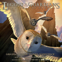 Legend of the Guardians: The Owls of Ga'Hoole Bande Originale (David Hirschfelder) - Pochettes de CD