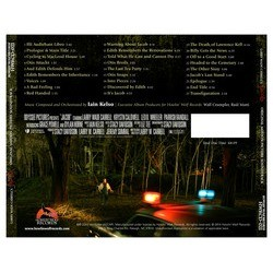 Jacob Soundtrack (Iain Kelso) - CD Back cover