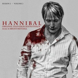 Hannibal Season 2 Volume 2 Soundtrack (Brian Reitzell) - CD cover