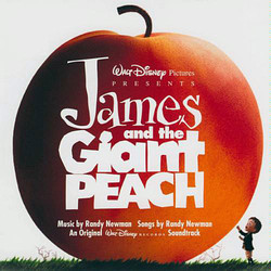 James and the Giant Peach Soundtrack (Randy Newman) - CD cover