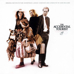 The Accidental Tourist Soundtrack (John Williams) - CD cover