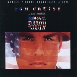 Born on the Fourth of July Soundtrack (John Williams) - CD cover