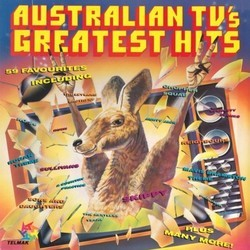 Australian TV's Greatest Hits Ścieżka dźwiękowa (Various Artists) - Okładka CD