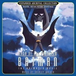 Batman: Mask of the Phantasm Bande Originale (Shirley Walker) - Pochettes de CD