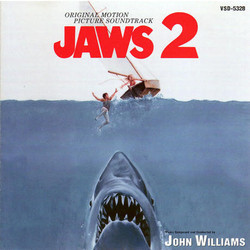 Jaws 2 Soundtrack (John Williams) - CD cover