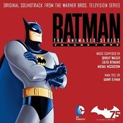 Batman: The Animated Series Vol.1 Ścieżka dźwiękowa (Danny Elfman, Michael McCuistion, Lolita Ritmanis, Shirley Walker) - Okładka CD