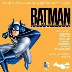 Batman: The Animated Series Vol.4 Ścieżka dźwiękowa (Jeff Atmajian, Stuart Balcomb, Danny Elfman, Harvey R. Cohen, Lolita Ritmanis, Carlos Rodriguez, Carl Swander Johnson, Shirley Walker) - Okładka CD