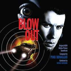 Blow Out Trilha sonora (Pino Donaggio) - capa de CD