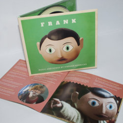 Frank Soundtrack (Various Artists, Stephen Rennicks) - cd-inlay