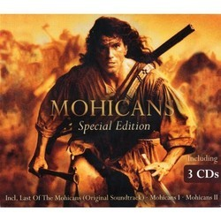 Mohicans Soundtrack (Trevor Jones) - CD-Cover