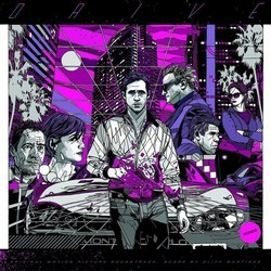 Drive Soundtrack (Various Artists, Cliff Martinez) - CD cover