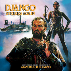 Django Strikes Again Soundtrack (Gianfranco Plenizio) - CD cover