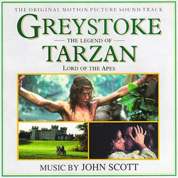 Greystoke: The Legend of Tarzan, Lord of the Apes 声带 (John Scott) - CD封面