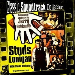 Studs Lonigan Soundtrack (Jerry Goldsmith) - CD cover