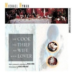 The Cook, The Thief, His Wife & Her Lover Soundtrack (Michael Nyman) - CD cover