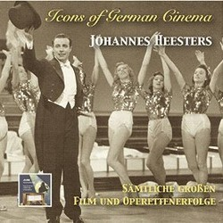 Icons of German Cinema: Johannes Heesters Soundtrack (Various Artists, Johannes Heesters) - CD cover